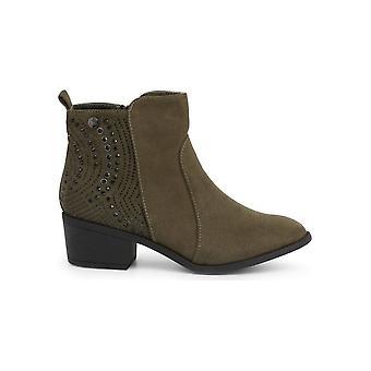 Xti - Shoes - Ankle boots - 48606_KAKHI - Ladies - darkolivegreen - EU 36