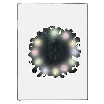 Stranger Things The Demogorgon Eleven Lights Hardback Journal