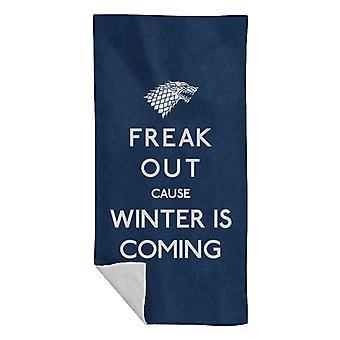 Freaking Winter Spiel der Throne Strand Handtuch