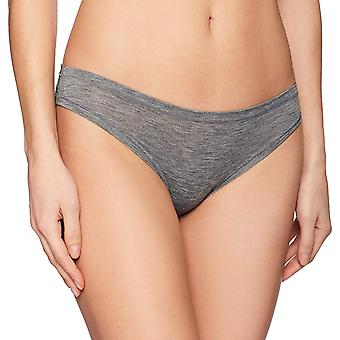 Brand - Mae Women's Airy Bikini, 3-Pack, Heather Black, M