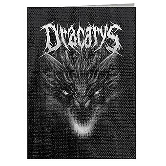 Biglietto d'auguri Dracarys Metal Band Targaryen Game Of Thrones