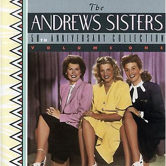 Andrews Sisters - 50th Anniversary [CD] USA import
