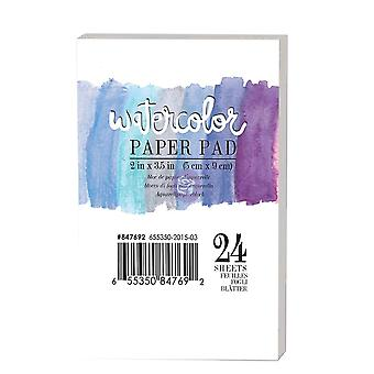 Art Philosophy Watercolor 2x3.5 Inch Paper Pad