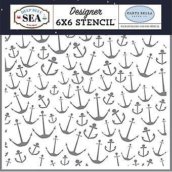 Carta Bella Meriankkuri 6x6 Tuuman Kaavain