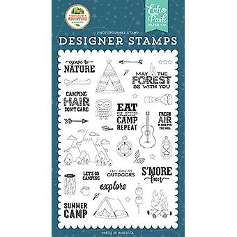 Echo Park Escape to Nature Clear Stamps