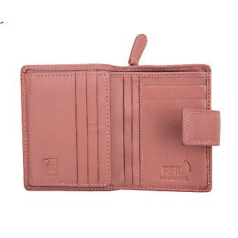 Primehide Womens Leather Purse Wallet RFID Blocking Medium Size Card Holder 2311