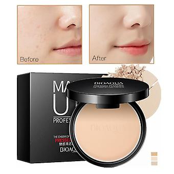 Matte Pressed Powder, Concealer Face Oil Control Setting - Foundation
