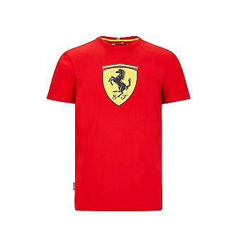Scuderia Ferrari Men's Large Shield T-shirt | Vermelho | 2020