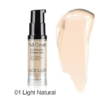 8 Colors Liquid Concealer Makeup -6ml Eye Dark Circles Cream, Face Corrector