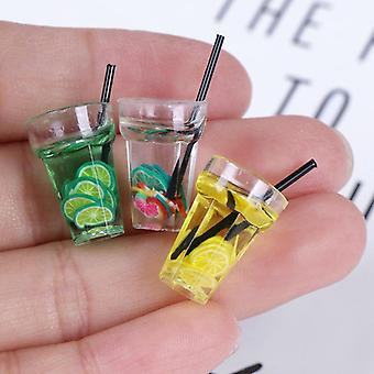 Miniatyr Harts Frukt flaska för Dollhouse - Simulering Drycker