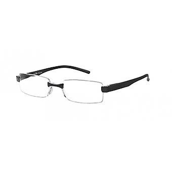Reading Glasses Unisex Le-0184A Toulon Black Strength +2.00