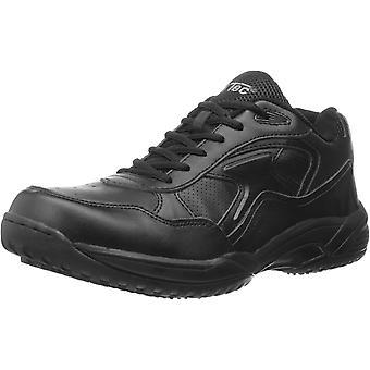 AdTec Men's 9632 Uniform Athletic Lace up White Work Shoe