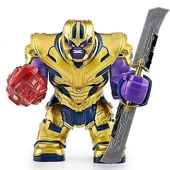 الأبطال الخارقين بناء كتلة دمية - الرجل الحديدي، كتل بناء Mk، Minifigures