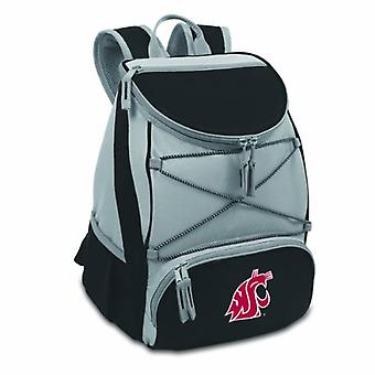 Ptx- Black (Washington State U. Cougars) Digital Print Backpack