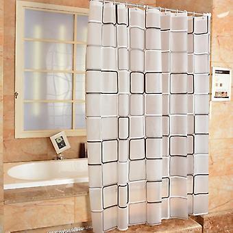 Kylpyhuoneen suihkuverho - 3d Vedenpitävä, Homeen verho