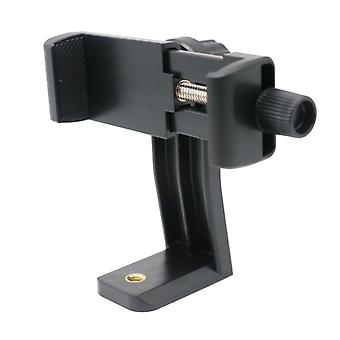 Universal Phone Tripod Mount Adapter Cellphone Clipper Stand Vertical 360