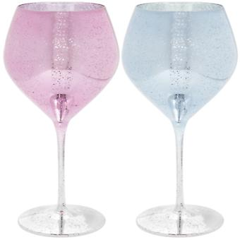Glitter Gin Glass Set of 2 Tekijä Lesser & Pavey