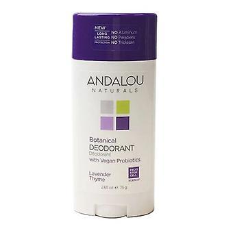 Andalou Naturals Lavendel Timian Deodorant, 2,65 Oz