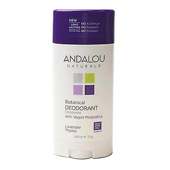 Andalou Naturals Lavender Thyme Deodorant, 2.65 Oz