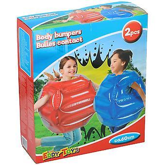 Body Bumpers Opblaasbare Vesten 2 stuks voor kinderen te ravotten ongeveer 60 cm uit 8 jaar