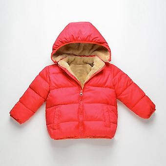 Winter Warm Thick Velvet Jackets For Girls Boys - Coat Baby Outerwear