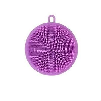 Silicone Dish Washing Sponge Scrubber - Kitchen Cleaning Tool