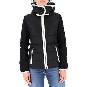 Moncler Grenoble 8g51380995999 Women's White/black Nylon Sweatshirt