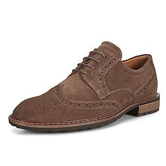 ECCO 640314 Vitrus I - Men & apos;s Lace-up Brogue Shoes in Dark Clay
