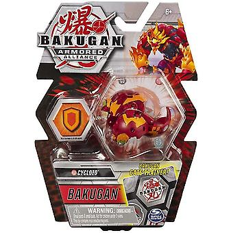 Bakugan Armored Alliance 1 Pack 2 Inch Figure Cycloid (Pyrus Faction)