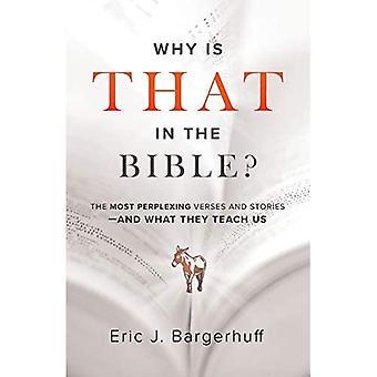 Waarom is dat in de Bijbel?: De meest verbijsterende verzen en verhalen - en wat ze ons leren