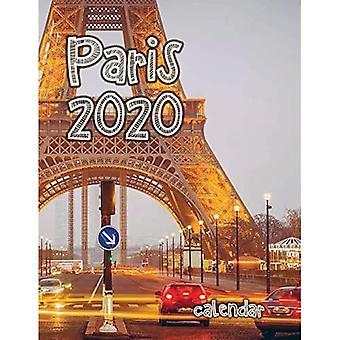 Paris 2020 Calendar