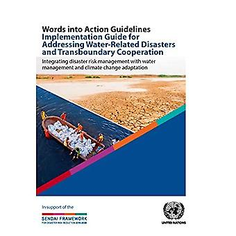 Words Into Action Guidelines Implementation Guide for Addressing Water-Related Disasters and Transboundary Cooperation: Integrating Disaster Risk Management with Water Management and Climate Change Adaptation