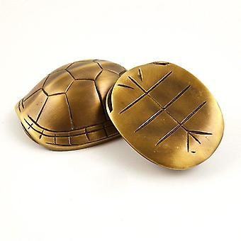 Brass Turtle Shell