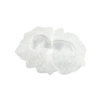 200 Pcs Disposable Hair Nets Cap Non Woven Head Cover