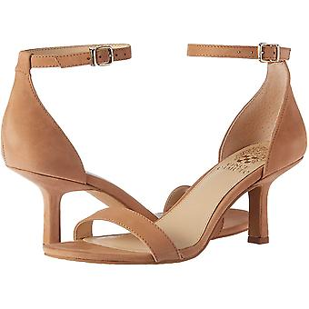 Vince Camuto Womens Rondera Suede Peep Toe Casual Ankle Strap Sandals