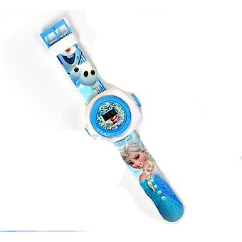 Children Wrist Watch - Projection Cartoon Pattern Girls And Boys Toys