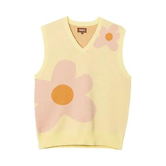 Nouveau luxe Golf Flower Creator Knit Casual Sweater Vest Sleeveless Asian Plug