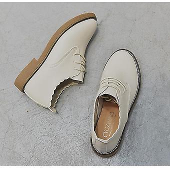 الربيع موري المرأة & ق صغيرة الجلود أحذية واحدة والطلاب البرية الرجعية البريطانية