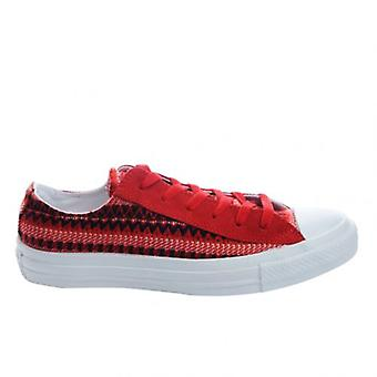 Converse Chuck Taylor CT All Star Blanket Ox Canvas Mens Trainers Red 139827F P1