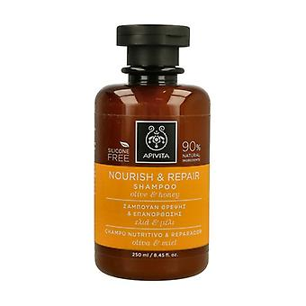 Nourishing and Repairing Shampoo With Olive and Honey 250 ml
