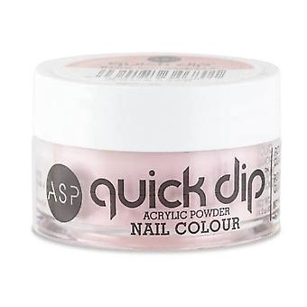 ASP Quick Dip Acrylique Trempette Poudre Poudre Nail Colour - Kiss Me Softly