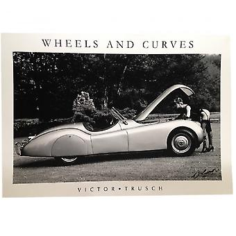 Victor Trusch Wheels And Curves Print