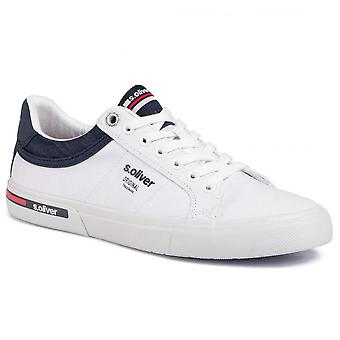 Chaussures plates blanches