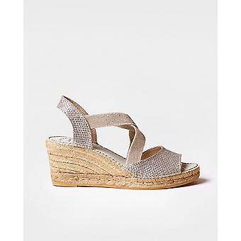 SOL-S - Vegan espadrille for woman by Toni Pons made of fabric.