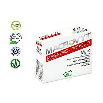 Magnesium- ja kaliummakrovyt 36 pakettia 5g
