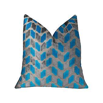 """Plutus Deep Sea Dive Handmade Throw Pillow, (26"""" X 26"""")"""