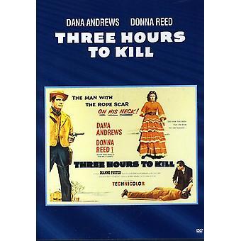 Three Hours to Kill [DVD] USA import