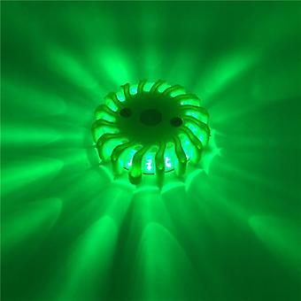 Led Road Red Sicherheit Flare Taschenlampe Magnet, blinkende Warn-Nachtlichter &