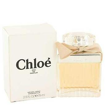 Chloe (nuevo) Por Chloe Eau De Parfum Spray (tester) 2.5 Oz (mujeres) V728-492970