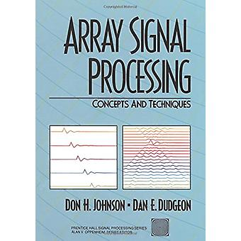 صفيف معالجة الإشارات -- المفاهيم والتقنيات التي دون H. جونسون --